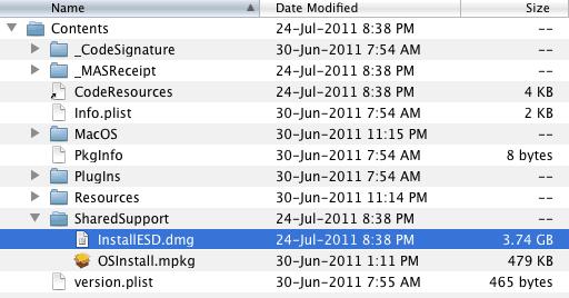 The InstallESD.dmg file