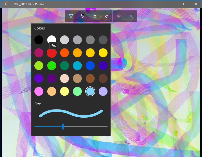 Draw over Photos and Videos